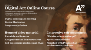 Digital Art Online Course / Digitaalinen maalaus ja vektorikuvitus