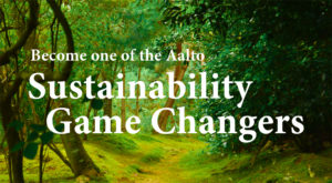Sustainability Game Changers