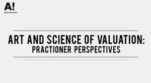 Art and science of valuation: practitioner perspectives.